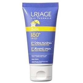 Bébé 1ère crème minérale spf50+ 50ml - uriage -213266