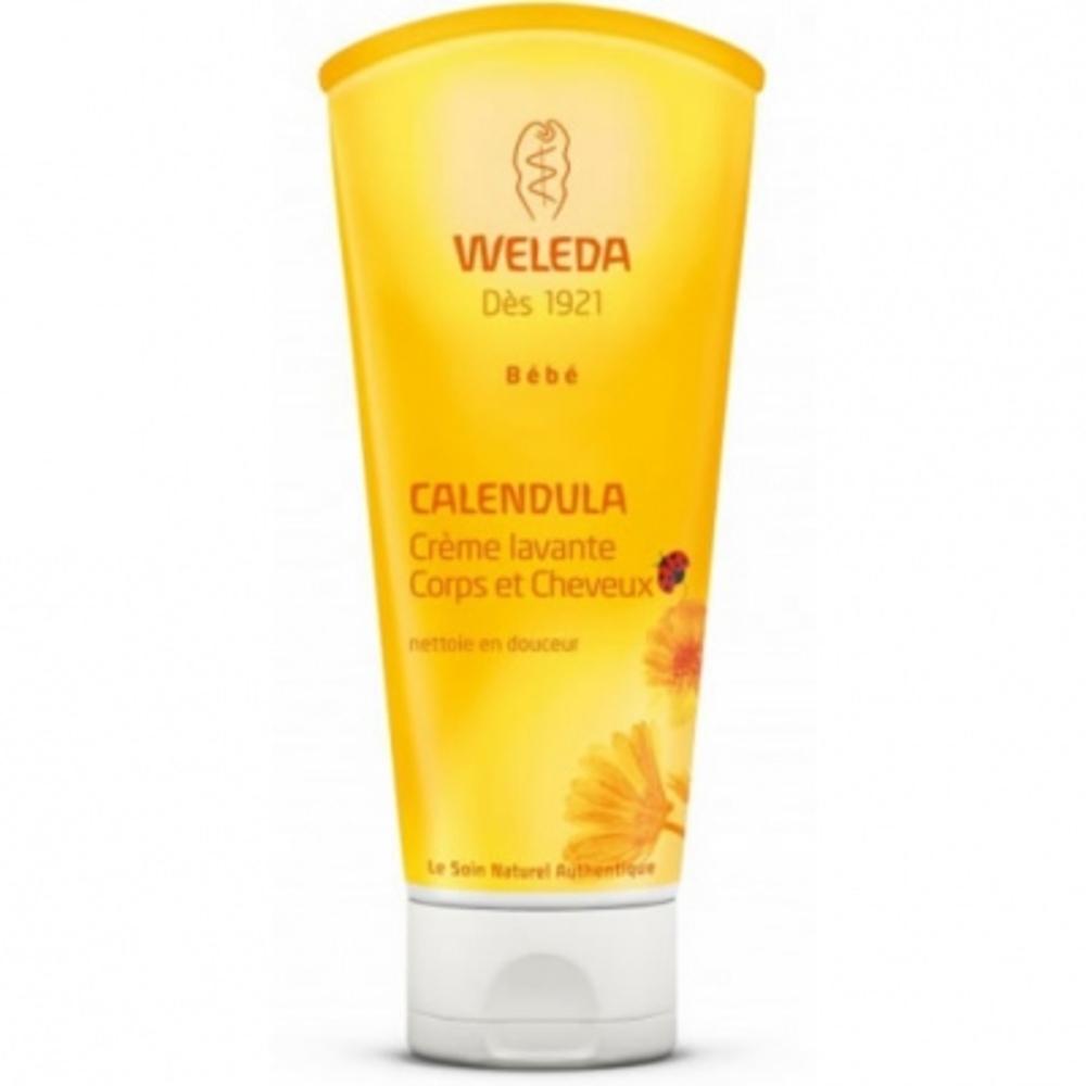 Bébé calendula crème lavante - 200ml - 200.0 ml - bébé - weleda Nettoie en douceur-9720