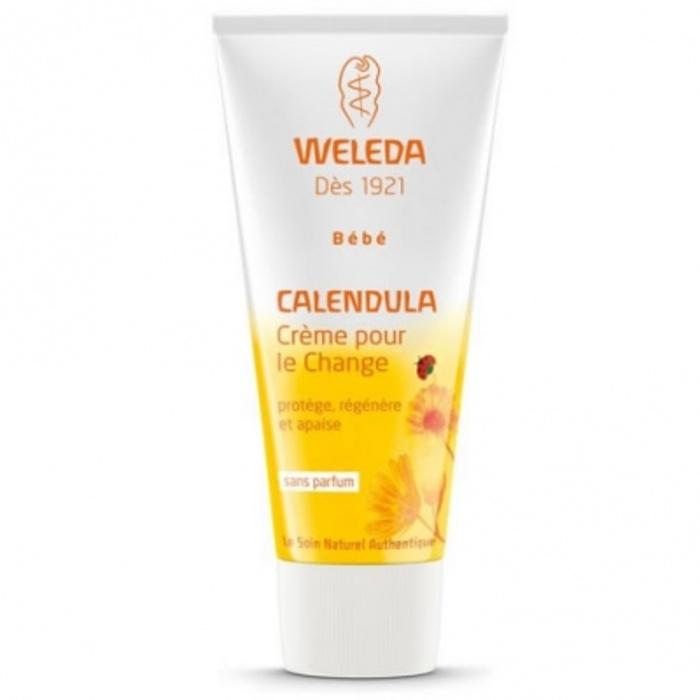 Bébé calendula crème pour le change Weleda-526