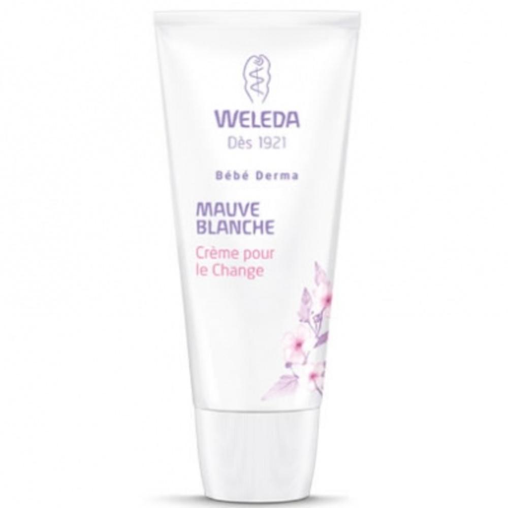 Bébé derma crème change mauve blanche - 50ml - 75.0 ml - bébé - weleda Protège, régénère et apaise les irritations-189996