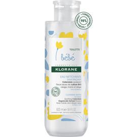 Bebe eau nettoyante sans rinçage 500ml - klorane -222623