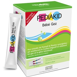Bébé gaz - 12 sticks - pediakid -204052