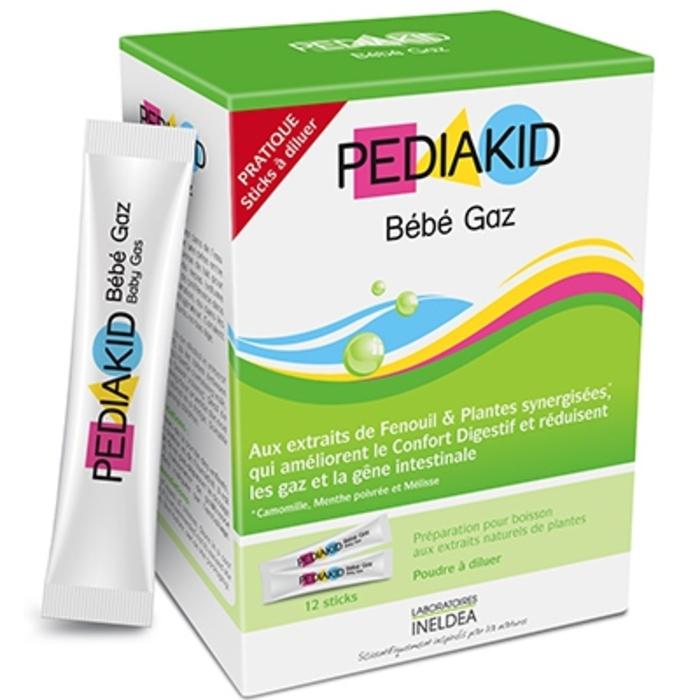 Bébé gaz - 12 sticks Pediakid-204052
