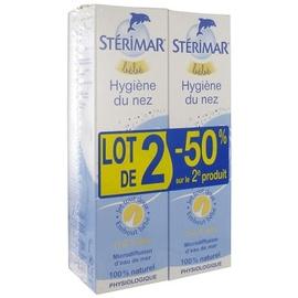 Bébé hygiène du nez 2x - 100.0 ml - hygiène nasale - sterimar -112539
