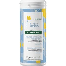 Bebe poudre de toilette protectrice 100g - klorane -222615