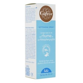 Bébé septinasal spray 50ml - gifrer -216086