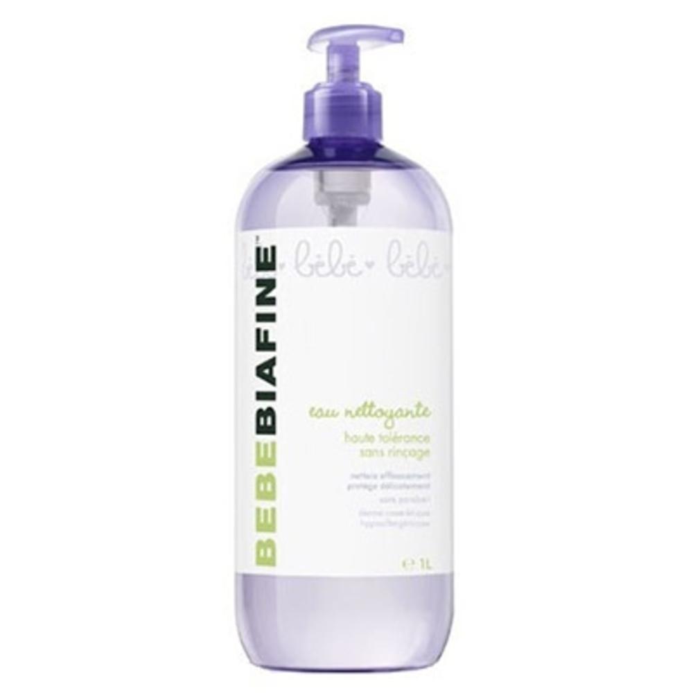 Bebebiafine eau nettoyante sans rinçage - 1l - 1000.0 ml - soins bébé - bébébiafine -138968