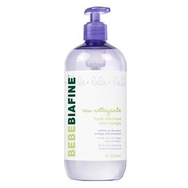 Bebebiafine eau nettoyante sans rinçage - 500.0 ml - soins bébé - bébébiafine -124505