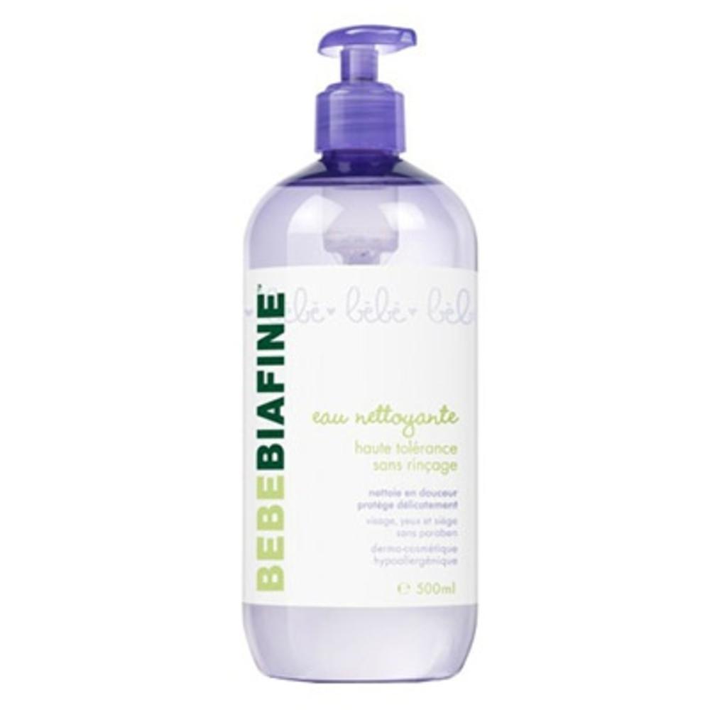 BEBEBIAFINE Eau Nettoyante Sans Rinçage - 500ml - 500.0 ml - Soins bébé - Bébébiafine -124505