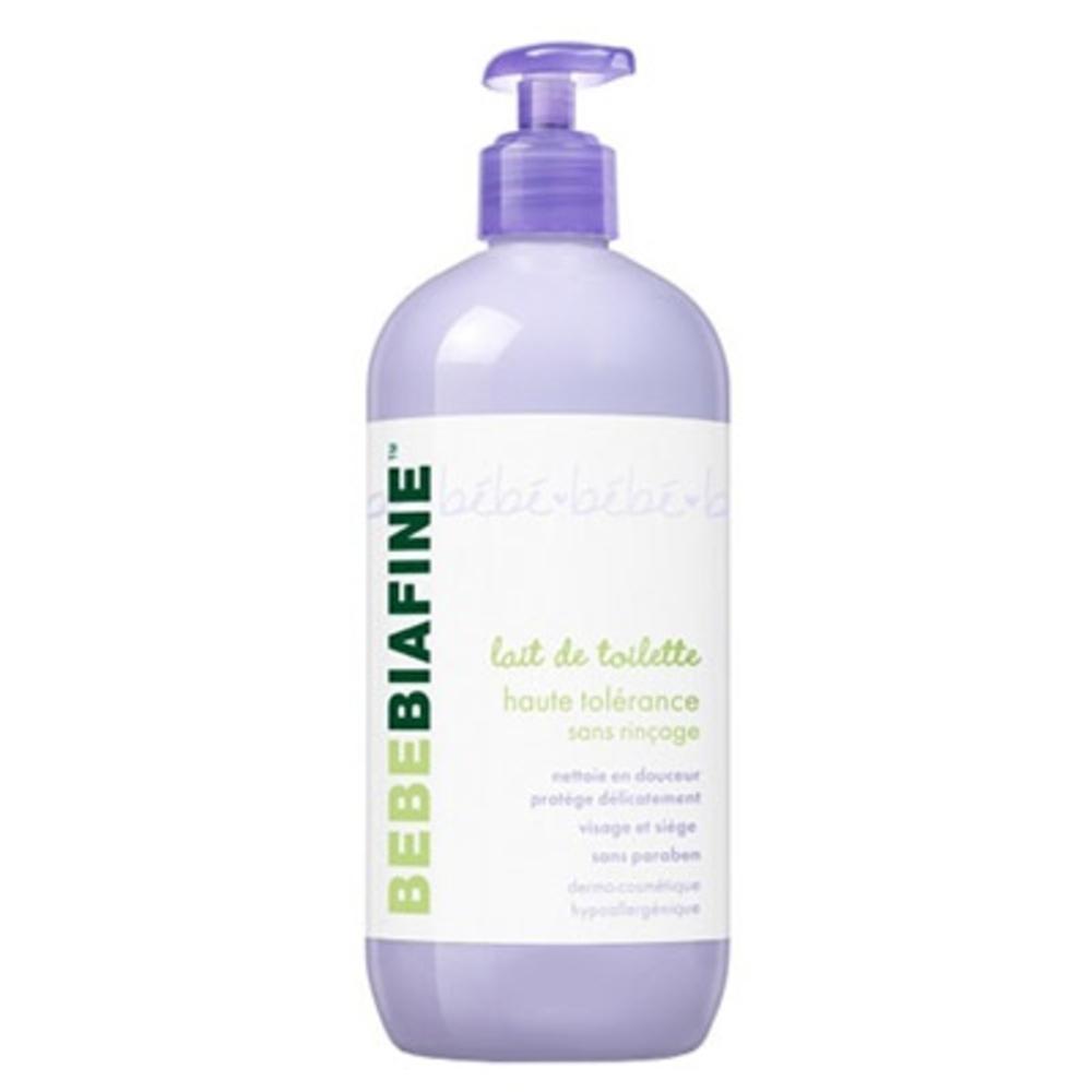 BEBEBIAFINE Lait de Toilette Sans Rinçage - 500ml - 500.0 ml - Soins bébé - Bébébiafine -124506