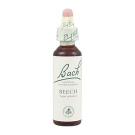 Beech n°3 - 20.0 ml - bach original Sentiment de préoccupation excessive - Tolérance-8129