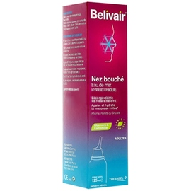 Belivair nez bouché spray nasal adultes - 125 ml - belivair -205906