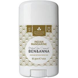 Ben & anna déodorant stick indian mandarin 60g - ben-anna -222934