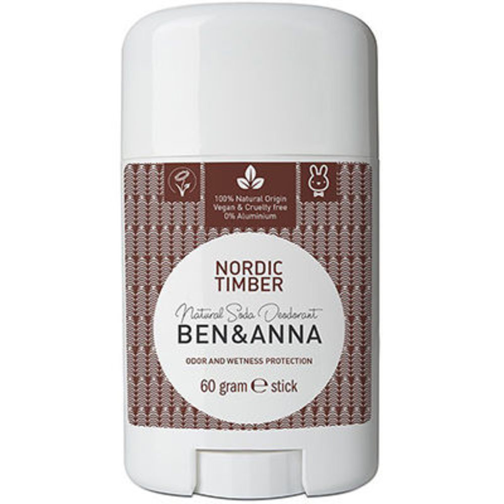 Ben & anna déodorant stick nordic timber 60g - ben-anna -222935