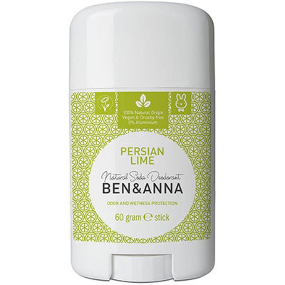 Ben & anna déodorant stick persian lime 60g - ben-anna -222936