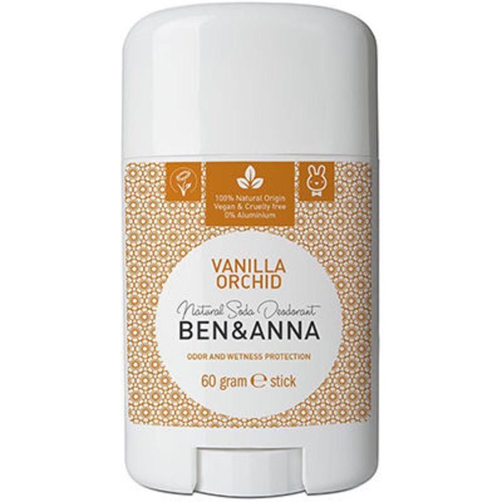 Ben & anna déodorant stick vanilla orchid 60g - ben-anna -222940