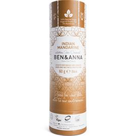 Ben & anna déodorant tube stick indian mandarin 60g - ben-anna -222942