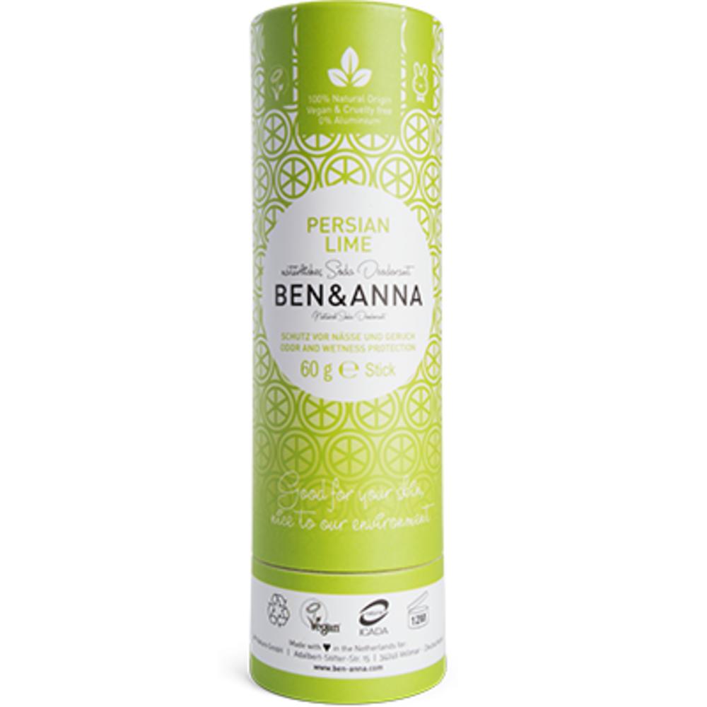 Ben & anna déodorant tube stick persian lime 60g Ben anna-222943