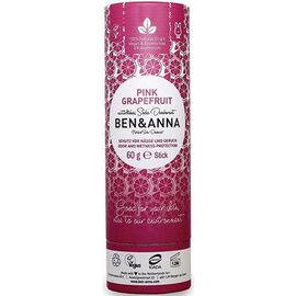 Ben & anna déodorant tube stick pink grapefruit 60g - ben-anna -222944