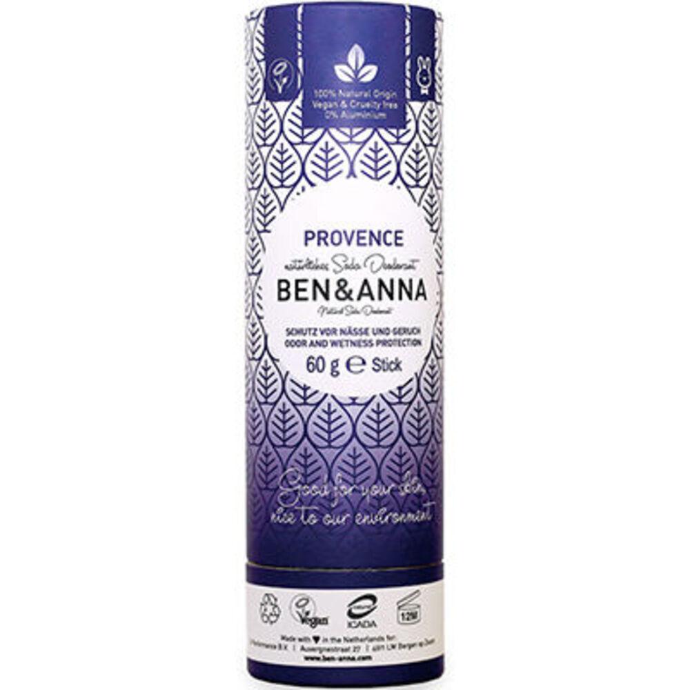 Ben & anna déodorant tube stick provence 60g - ben-anna -222945