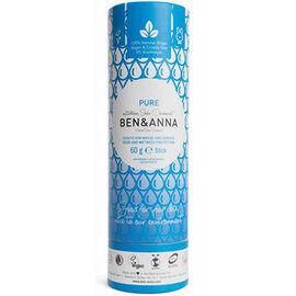 Ben & anna déodorant tube stick pure 60g - ben-anna -222946