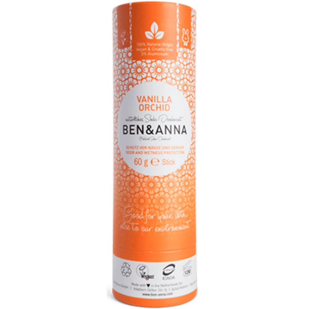 Ben & anna déodorant tube stick vanilla orchid 60g Ben anna-222947