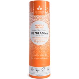 Ben & anna déodorant tube stick vanilla orchid 60g - ben-anna -222947