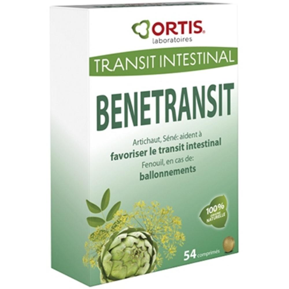 Benetransit 54 comprimés - 54.0 unites - transit - ortis Rééquilibre et stimule le transit-127006