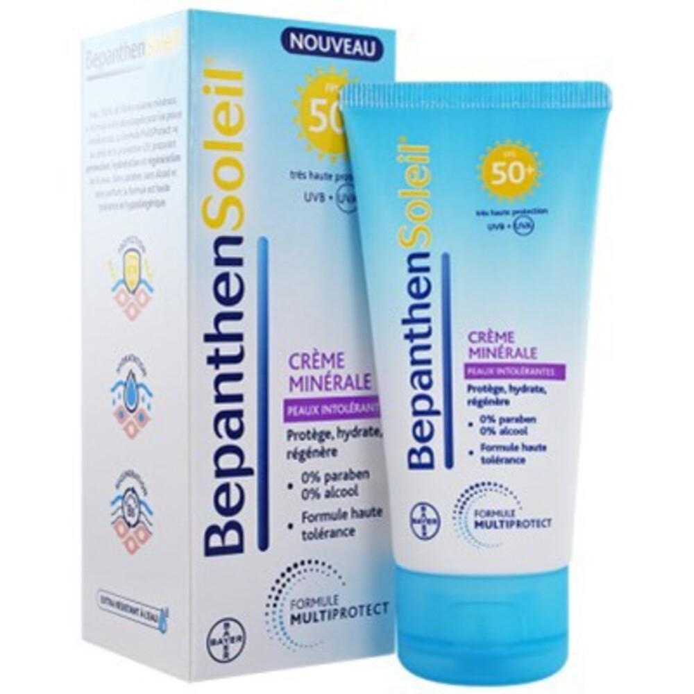 Bepanthen soleil crème minérale spf50+ 50ml - bepanthen -213906