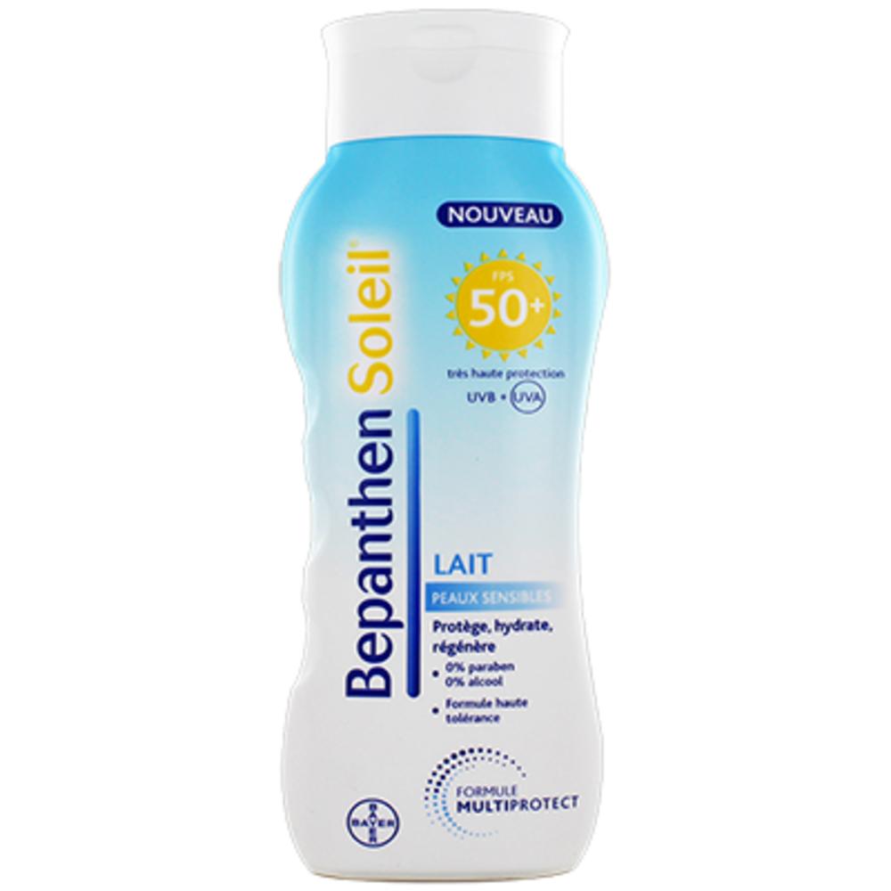 Prix de bayer bepanthen soleil lait adulte spf50 200ml - Bepanthen coup de soleil ...
