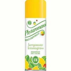 Bergamote lemongrass - 250.0 ml - phytaromasol Désodorisent naturellement l'atmosphère-6456