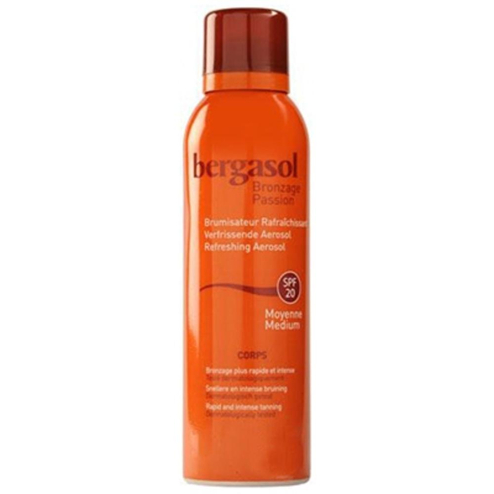 Bergasol brume rafraîchissante spf20 - 150.0 ml - ip20 - bergasol -120110