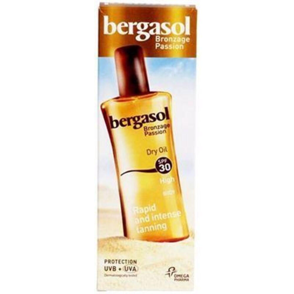 Bergasol huile sèche spf30 125ml - 125.0 ml - ip30 - bergasol -142812