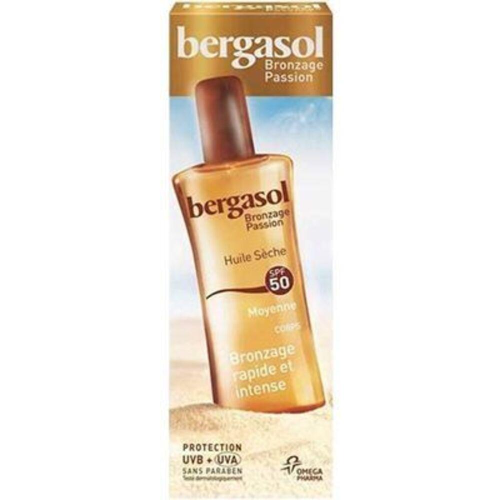 Bergasol huile sèche spf50 125ml - bergasol -225714