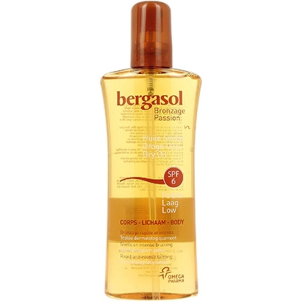 Bergasol huile sèche spf6 - 125.0 ml - ip6 - bergasol Visage et corps-3964