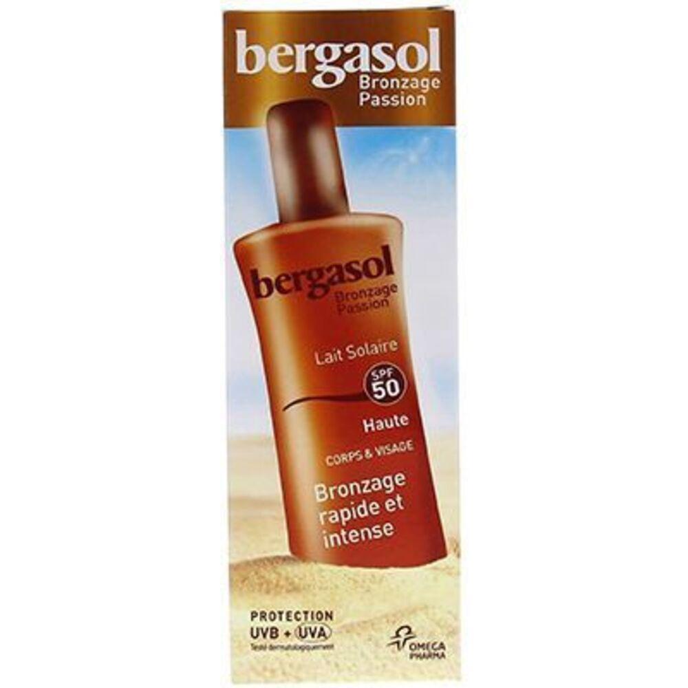 Bergasol lait solaire spf50 125ml - bergasol -225715