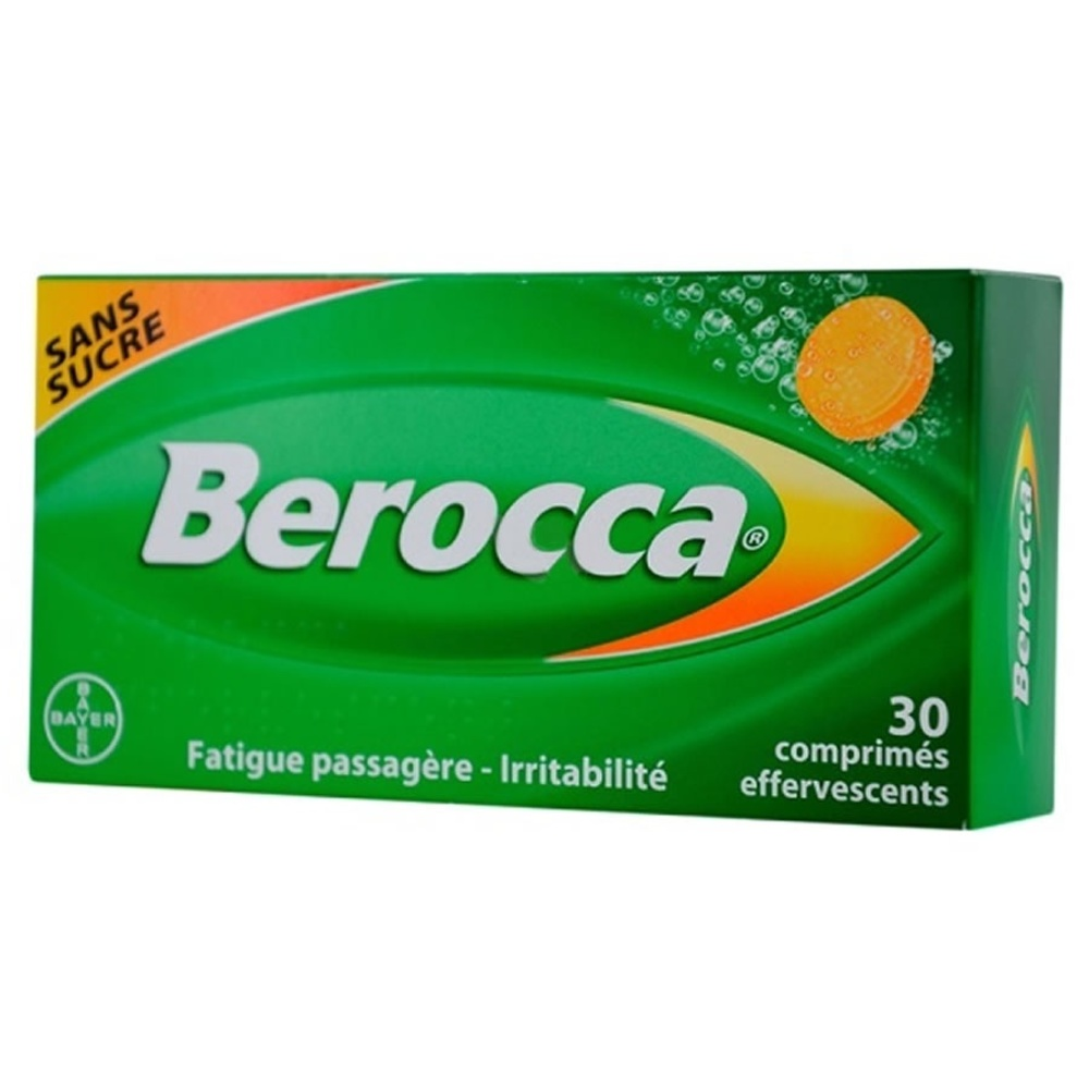 Berocca - 30 comprimés effervescents - bayer -192928