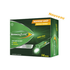 Berocca boost 14 sticks goût cola - bayer -221197