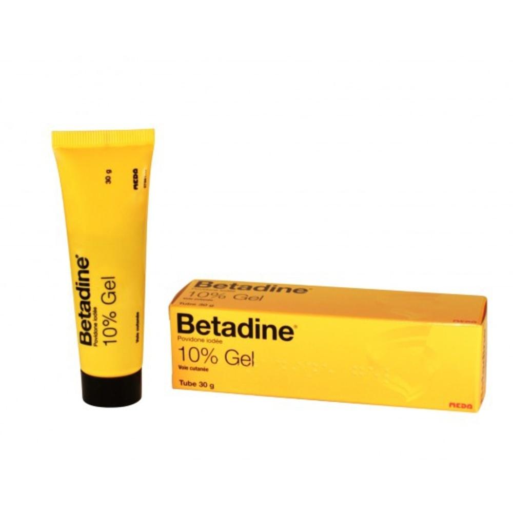 Betadine 10% gel - 30 g - 30.0 g - meda pharma -194009