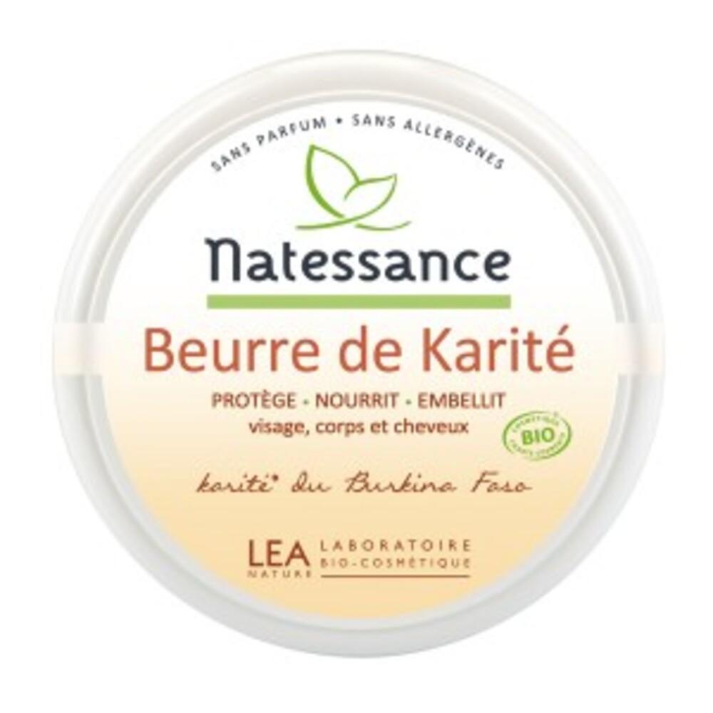 Beurre de karité bio - 100.0 g - karité - natessance Protecteur zones sèches et abîmées.-8145