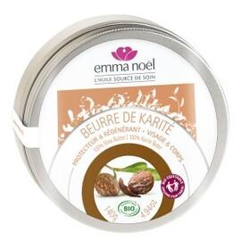 Beurre de karité bio - 150.0 ml - baumes au karité - emma noël -6656
