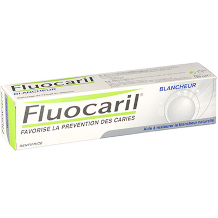 Bi-fluoré 145mg dentifrice blancheur 75ml Fluocaril-216094