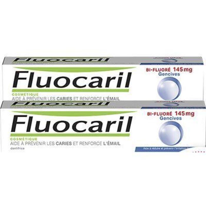 Bi-fluoré 145mg gencives 2x75ml Fluocaril-222738