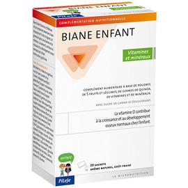 Biane enfant vitamines & minéraux 20 sachets - pileje -214181
