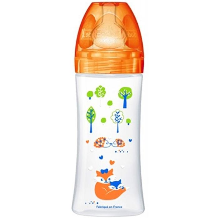 Biberon sensation+ 330ml orange Dodie-143669