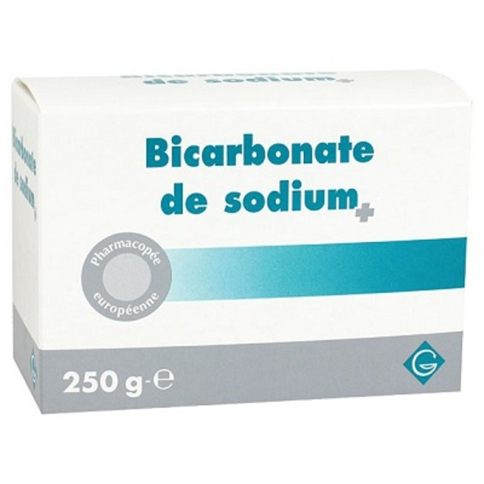 Bicarbonate de sodium 250g Gilbert-203117