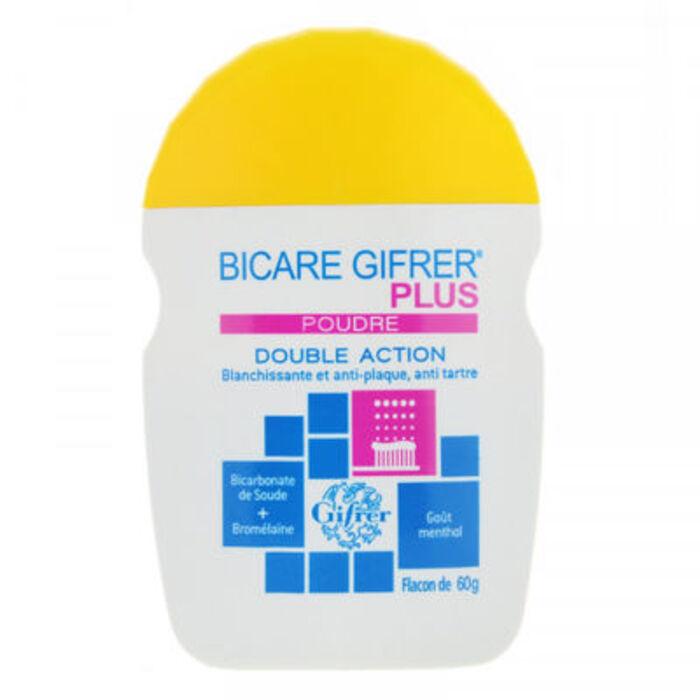 Bicare plus double action poudre 60g Gifrer-146061