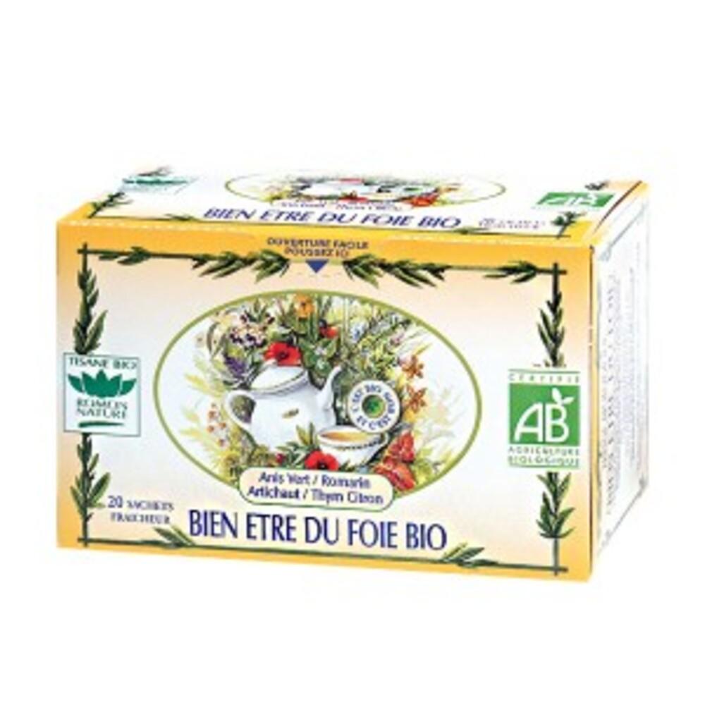 Bien-être du foie - 20.0 unites - tisanes complexes bio - romon nature -16164