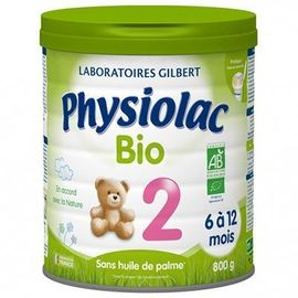 Bio 2ème âge de 6 à 12 mois 800g - 900.0 g - physiolac -219764
