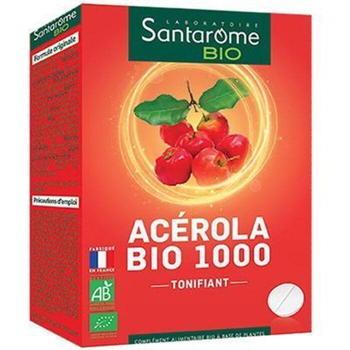 Bio acérola bio 1000 20 comprimés Santarome-222590
